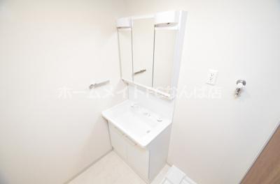 【独立洗面台】アットリースハウス大国町