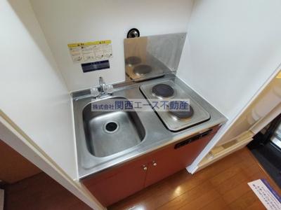 【キッチン】レオパレスSYOU