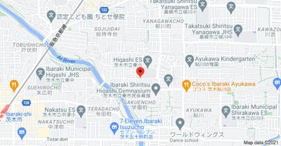【地図】アンフィニィ橋の内Ⅰ 敷金・礼金0円