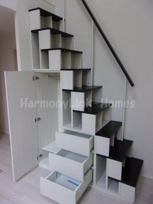 ハーモニーテラス神谷の収納付き階段☆