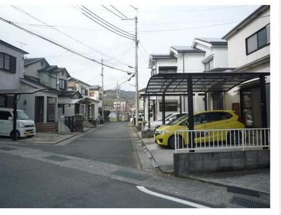 【前面道路含む現地写真】岩出市東坂本