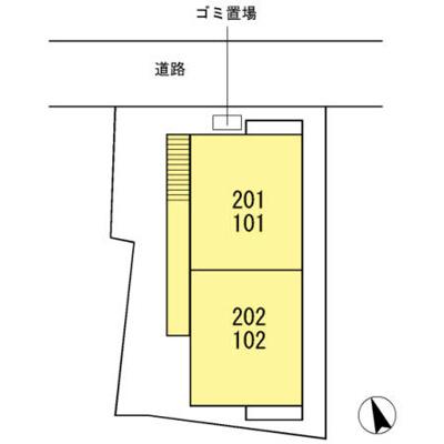 【区画図】キャステール羽沢
