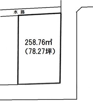 【土地図】前橋市前箱田町売地