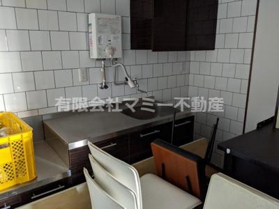 【キッチン】中川原3丁目店舗事務所S