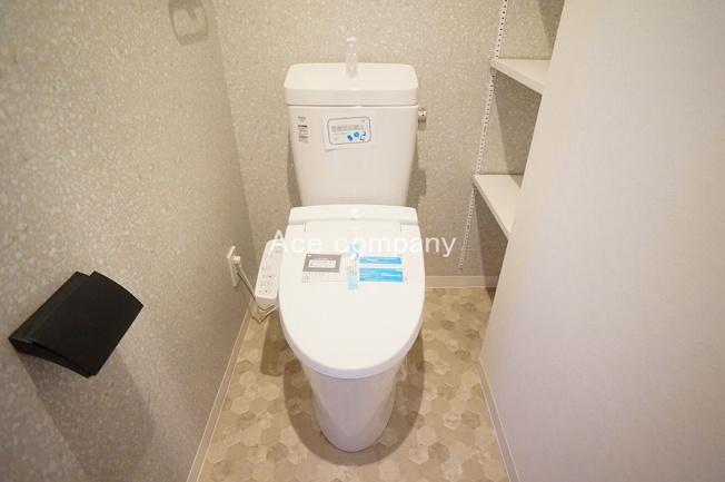 便器・タンク・温水洗浄便座、新調です☆