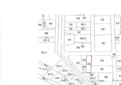 【地図】鳥取市吉方温泉4丁目土地