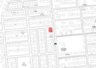 【地図】緑ヶ丘3丁目 店舗兼住居戸建