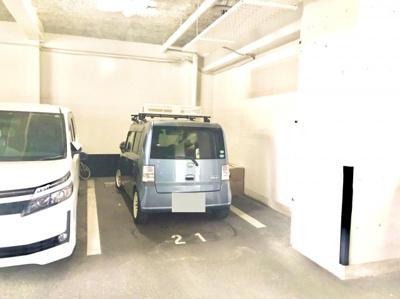 【駐車場】ロワールマンション・アール板付壱番館