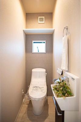 【トイレ】吹田市山田西3丁目 新築一戸建て