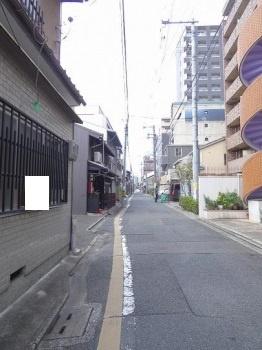 【前面道路含む現地写真】京都市下京区岩上通髙辻下る吉文字町