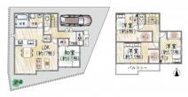 宝塚◆限定1区画◆セキュリティ充実!◆中野町 新築戸建て♪の画像