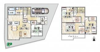 宝塚◆限定1区画◆セキュリティ充実!◆中野町 新築戸建て♪