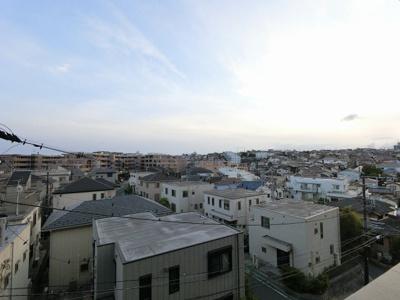 4階部分からの眺望です。 前面に建物なく開放感◎