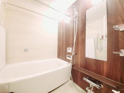 浴室乾燥、追い炊き機能付きのゆったりした浴室です。