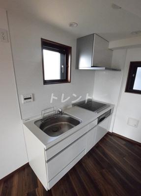 【キッチン】白山HDCフラット