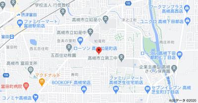 【地図】ニョゼリータ (株)Roots