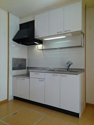 【キッチン】サピーガーデンⅠ・Ⅱ