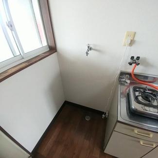 室内洗濯置