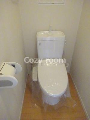 清潔感溢れるトイレです(現況と異なる場合は、現況を優先します。)