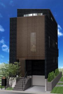 建物参考プラン完成イメージパース 建物面積112.92㎡、3040万円