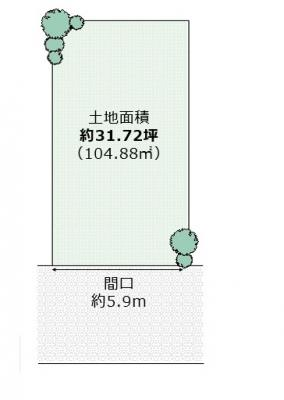 【外観】菩提町 売土地