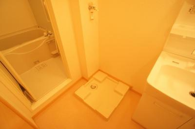 ★室内洗濯機置場