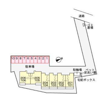 【区画図】フレール・ユウカ