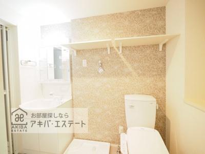 【洗面所】ハーモニーテラス西新井