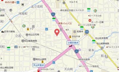 【地図】サントハウスⅡ