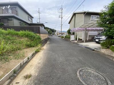 【前面道路含む現地写真】大津市和邇高城192-35 売土地