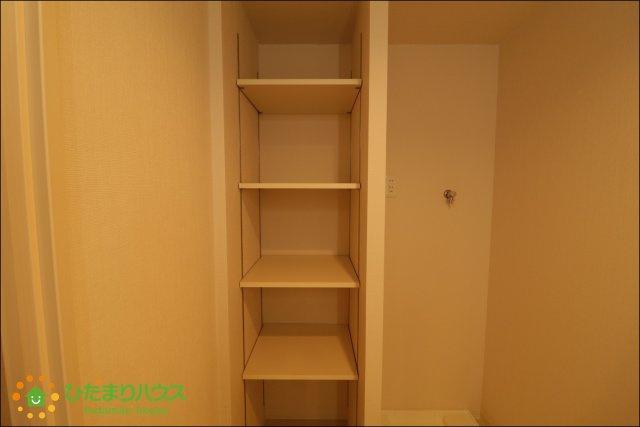 収納の多い間取りでお部屋がすっきり片付きます。