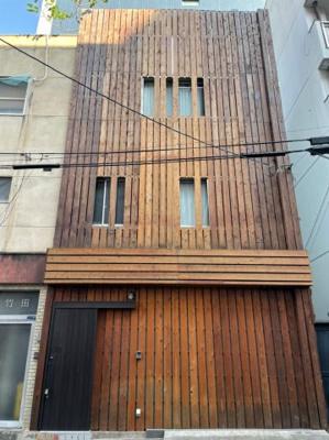 【外観】大阪市中央区高津1丁目 中古テラスハウス