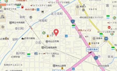 【地図】メゾンアルファ