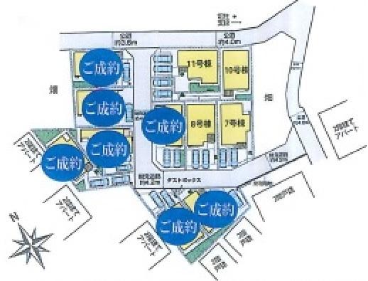 【区画図】新築戸建/川越市大字砂(全11棟)