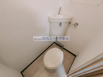 【トイレ】ヴィラ西村