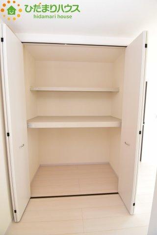 パントリー完備で散らかりがちなキッチン回りもラクラクお片付けできちゃいます!(*^-^*)