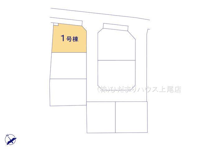 【区画図】鴻巣市吹上 第1 新築一戸建て リーブルガーデン 01