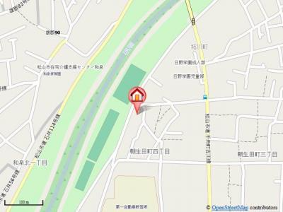 【地図】リバーフロント酒井