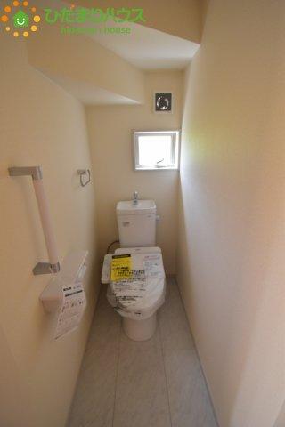 【トイレ】鴻巣市吹上 第1 新築一戸建て リーブルガーデン 02
