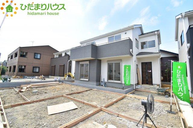 【外観】鴻巣市吹上 第1 新築一戸建て リーブルガーデン 02