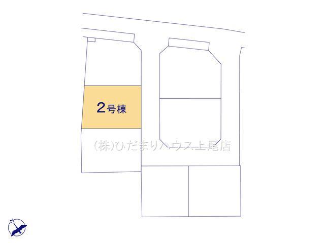 【区画図】鴻巣市吹上 第1 新築一戸建て リーブルガーデン 02