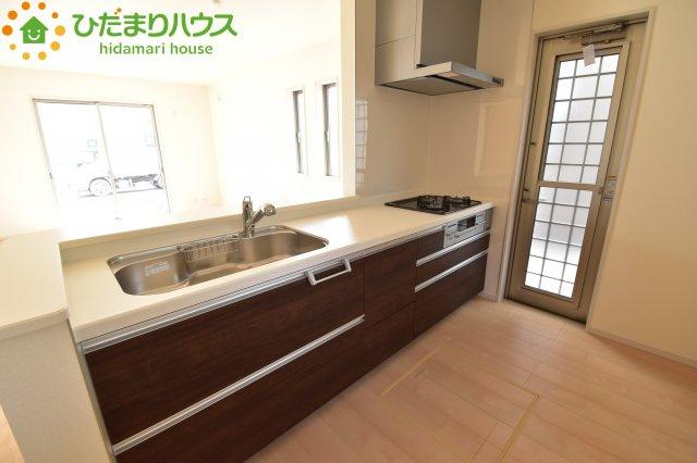 【キッチン】鴻巣市吹上 第1 新築一戸建て リーブルガーデン 02