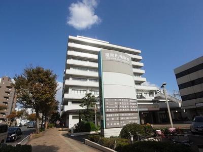 福岡市民病院まで900m