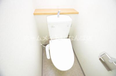 【トイレ】クリスタルコートNAMBA