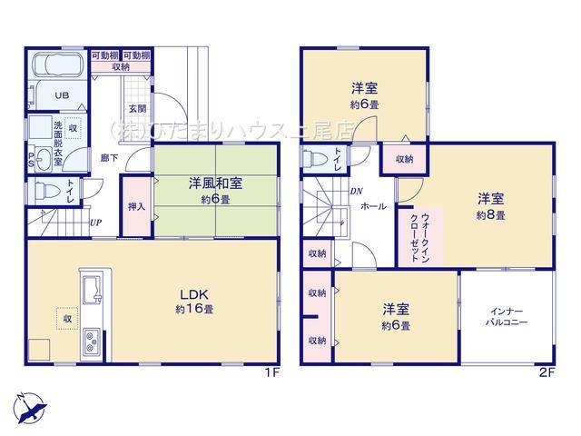 鴻巣市吹上 第1 新築一戸建て リーブルガーデン 04