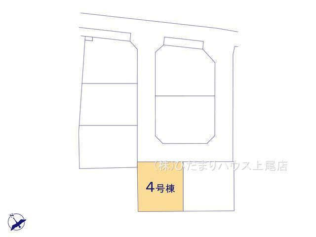 【区画図】鴻巣市吹上 第1 新築一戸建て リーブルガーデン 04