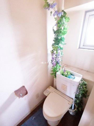 トイレも気になるポイント☆