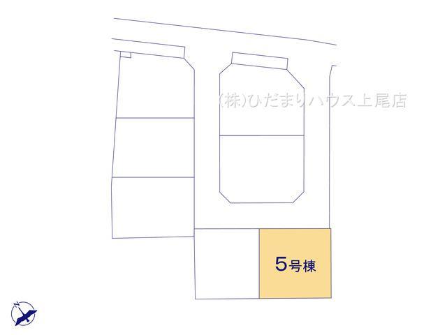 【区画図】鴻巣市吹上 第1 新築一戸建て リーブルガーデン 05