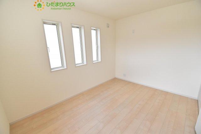 6帖の洋室!机にベットを置けば子供部屋の完成です!