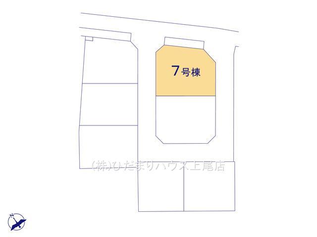 【区画図】鴻巣市吹上 第1 新築一戸建て リーブルガーデン 07